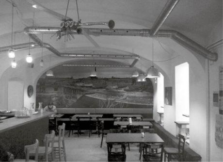 Kavárna Divadelního studia Paradox FOTO ARCHIV