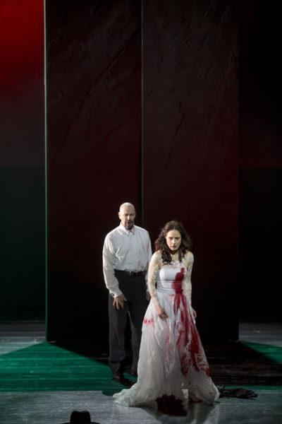 Modrovous (Anders Lorentzson) a Judita (Katarina Giotas) FOTO ND BRNO