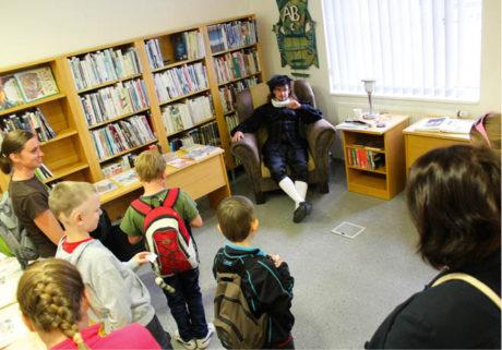 Interaktivní setkání se Shakespearem  Knihovna města Ostravy Foto Petr Zlámal
