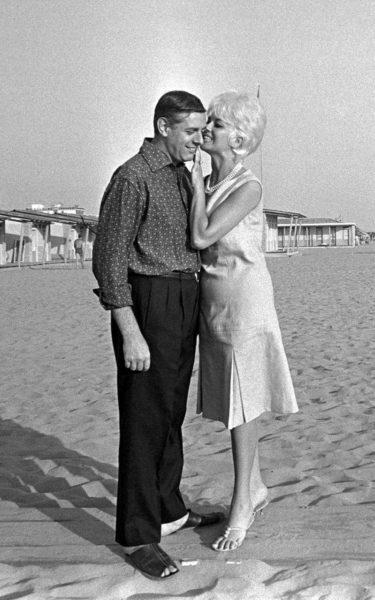 Se svou ženou Francou Rame v roce 1962. FOTO archiv