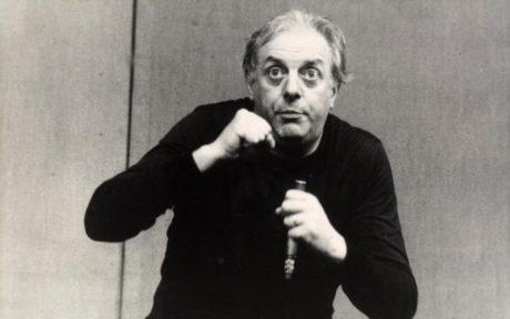 Ve svém typickém one-man představení. FOTO archiv