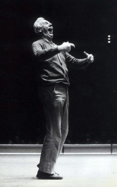 Během vystoupení na stockoholmském Folkets Hus 14. března 1980. FOTO archiv