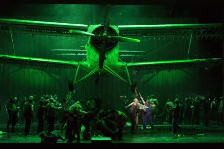 Richard Kindley, Chor des Staatstheater Nürnberg. FOTO LUDWIG OLAH