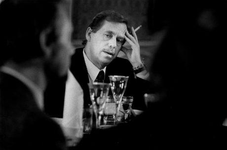 Dramatik Václav Havel. FOTO archiv