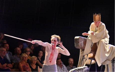 Slovenské národní divadlo představilo Doskami ověnčenou inscenaci Mojmír II., alebo Súmrak ríše  FOTO JAROSLAV PROKOP