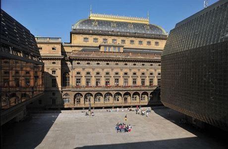 Piazzeta ND - budoucí náměstí Václasva Havla. FOTO archiv