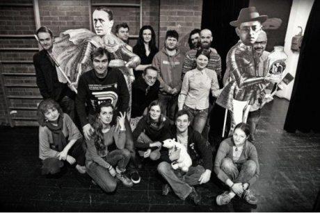 Ale to už se aktéři rovnali do řady.. FOTO archiv DHnP