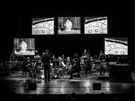 Videoinstalace opery v Mahenově divadle –  Steve Reich / Beryl Korot:  The Cave  FOTO JANÁČKOVA OPERA NdB:  JAKUB JÍRA