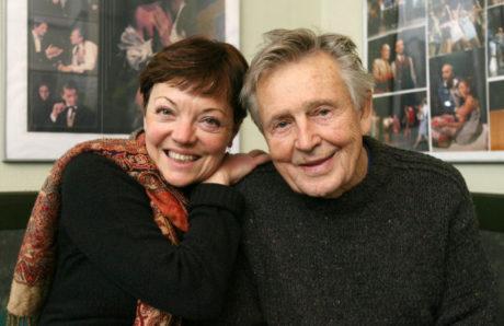 V roce 2008 se svou ženou, choreografkou Libuší Královou. FOTO MARTIN PEKÁREK