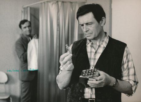 S Jiřím Jelínkem v Zatykači na královnu (1973). FOTO archiv