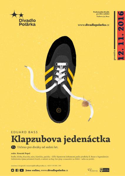 tucek-klapzubova-jedenactka-poster