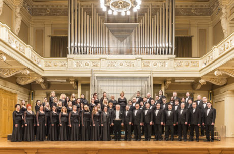 Český filharmonický sbor Brno, sbormistr Petr Fiala. FOTO archiv NDB