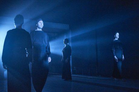 V komorním prostoru divadla Alfred ve dvoře přirozeně odpadly scénické efekty využité v ostravském Divadle Antonína Dvořáka. FOTO archiv Alfred ve dvoře
