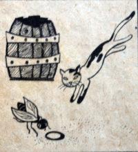 Kapka medu (pohádka byla poprvé uveřejněna v časopisu Junák č. 18, ročník 29 / 2. 1. 1947. Repro archiv