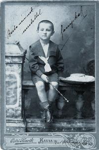 Sándor Márai, cca 1910. Repro archiv