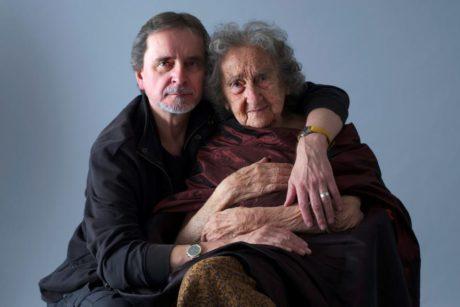 Se svým synem Jiřím. FOTO ROMAN SEJKOT