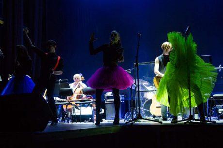 Stali se součástí přitažlivé koncertní kostýmované show… FOTO archiv JAMU